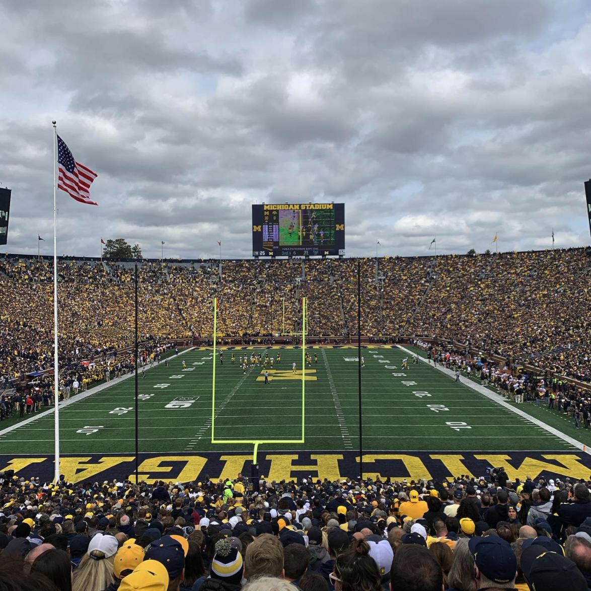 The Michigan Stadium