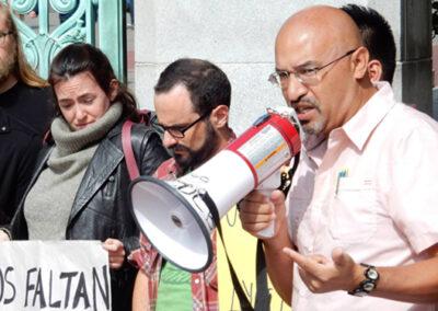 Berkeley Ayotzinapa Protest