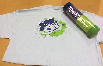 CFS T-Shirt Mailing Tube