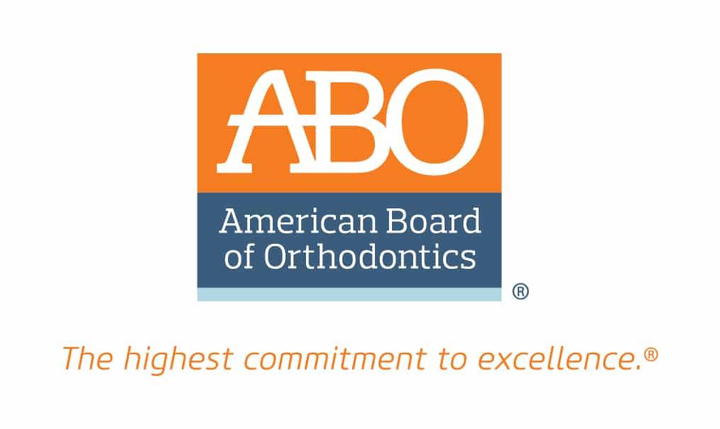 Logotipo de la Junta Americana de Ortodoncia (ABO)