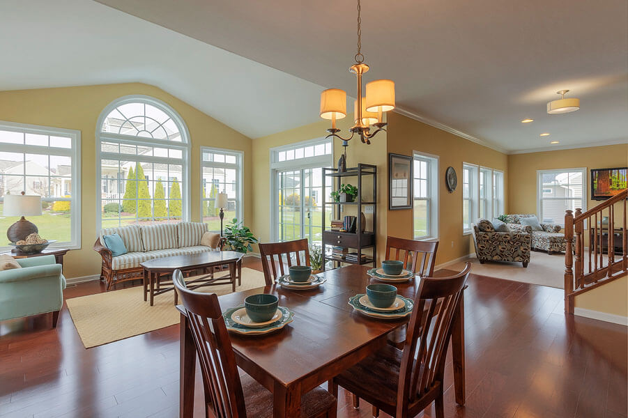 Sunroom photo by State College real estate photographer Rusty Glessner