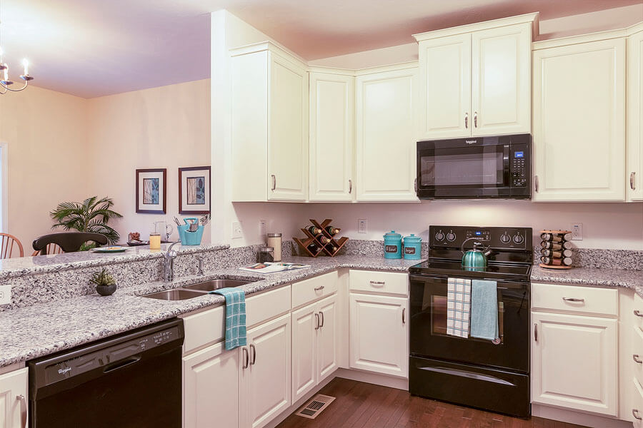 Kitchen photo by State College real estate photographer Rusty Glessner