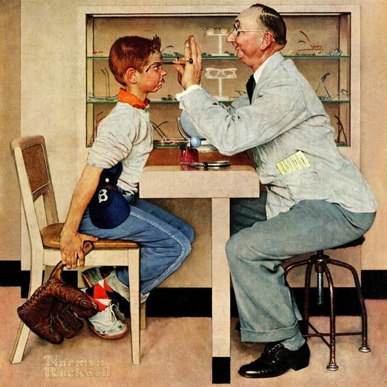 #8 - History Page 1st photo - Norman Rockwell print