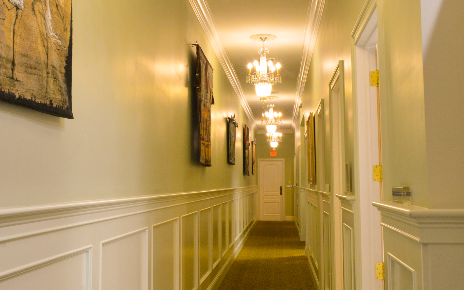 9 - Corridor to exam rooms