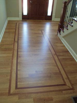 summit builders inlay hardwood flooring