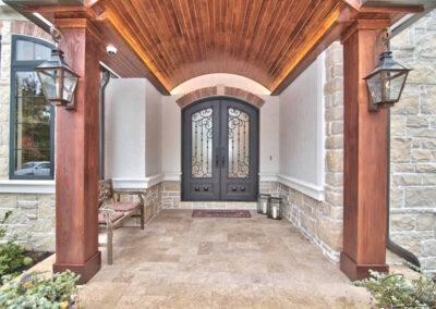 residential flooring exterior