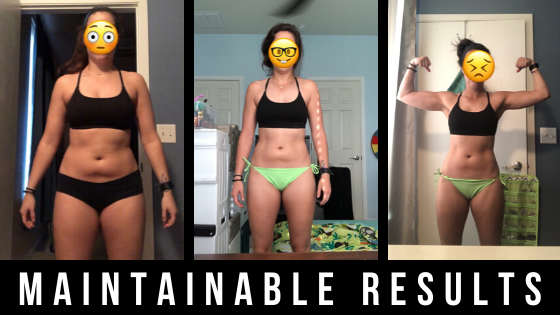 CASE STUDY: How Kelli avoided the yo-yo diet cycle, lost 25lbs, skyrocketed her confidence, and re-created herself through fitness