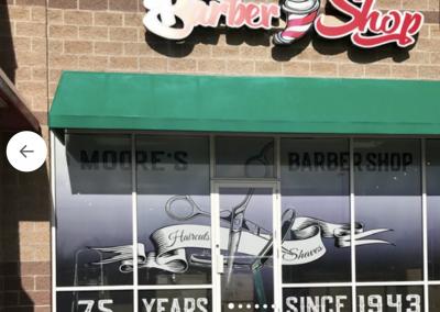 Moore's Barbershop