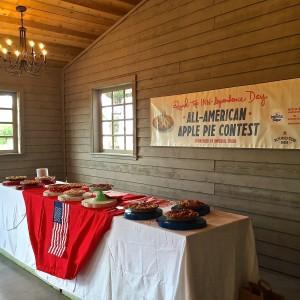 Pie Contest Table
