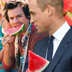 So is it fair to assume that Prince William is a Harry Styles fan?