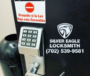 Alarm Lock Privacy Keypad