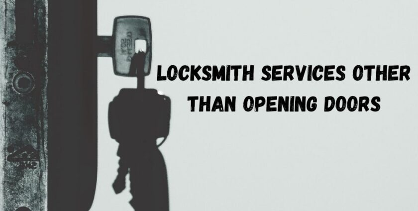locksmith opening doors