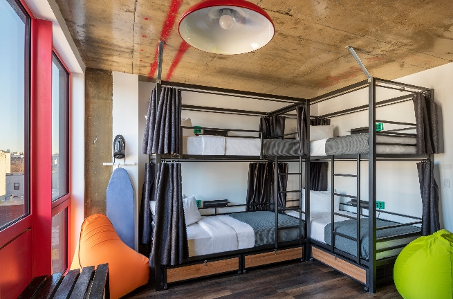 Private 4 Bunk Bed Room