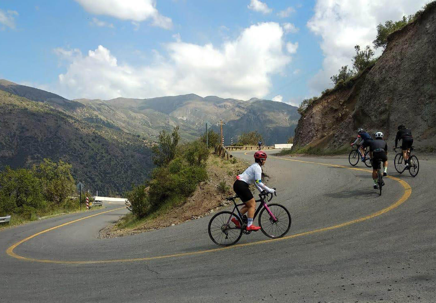 pedal no Chile