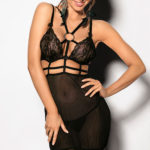 Angels Never Sin Thami Strappy Chemise