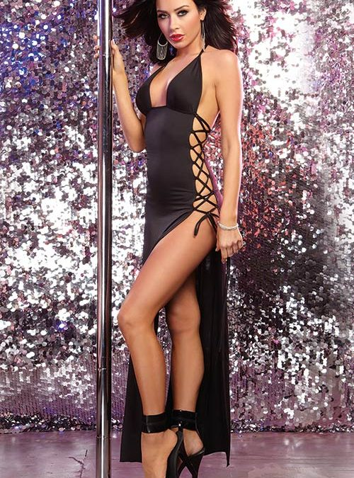 Lingerie | Dreamgirl Erotic Halter Long Dress