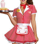 Dreamgirl 5 Pce Diner Costume
