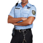 Dreamgirl 6 Pce Prison Guard Costume