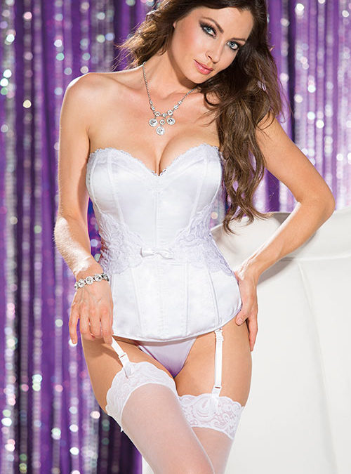 Shirley Of Hollywood The Ultimate Bridal Corset with G-String