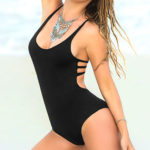 Mapale Swim & Beachwear Classic Black Swimsuit