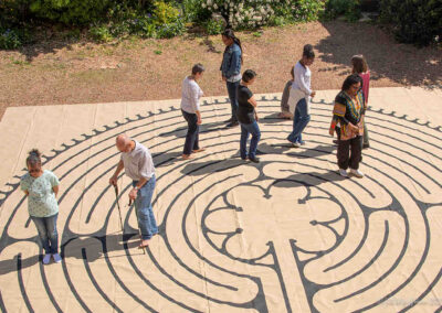 Canvas Chartres-style Labyrinth