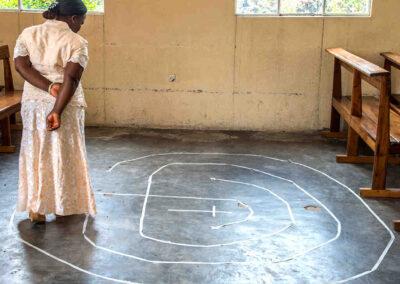 3-circuit labyrinth D. R. Congo
