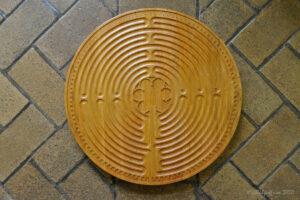 Wooden Finger Labyrinth by Jill K H Geoffrion, photographer