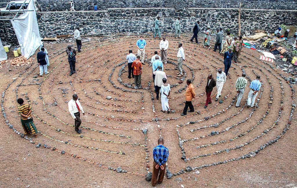 Labyrinth in Goma, DRC