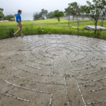 Carmel College Labyrinth, Auckland, NZ