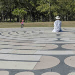 Chartres-style labyrinth in Sydney, Australia