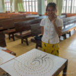 Creating small-scale labyrinths in Myanmar
