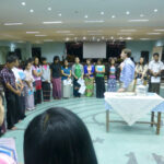 Communion on MIT Labyrinth, Yangon