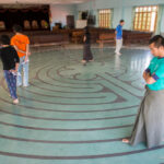 Praying the Labyrinth in Yangon, Myanmar