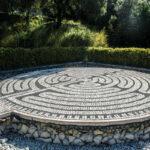 Sintra, Portugual modern labyrinth