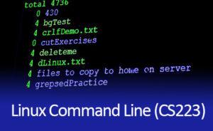Linux Command Line Class CS223