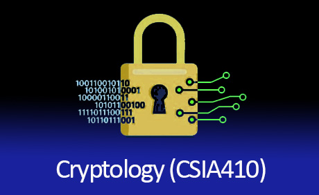 Cryptology Class CSIA 410