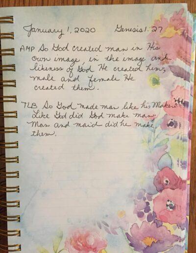 #1, Genesis 1:27 Lorraine Szontagh