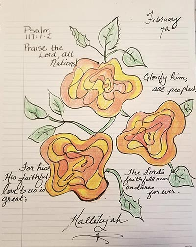 Wavy Rose