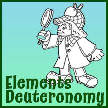 Clip Art Elements – Deuteronomy