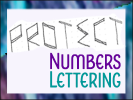 Lettering Lesson - Protect