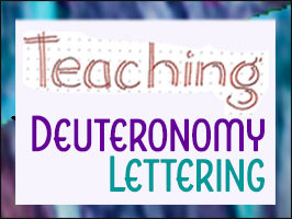"Lettering Lesson – ""Teaching"""