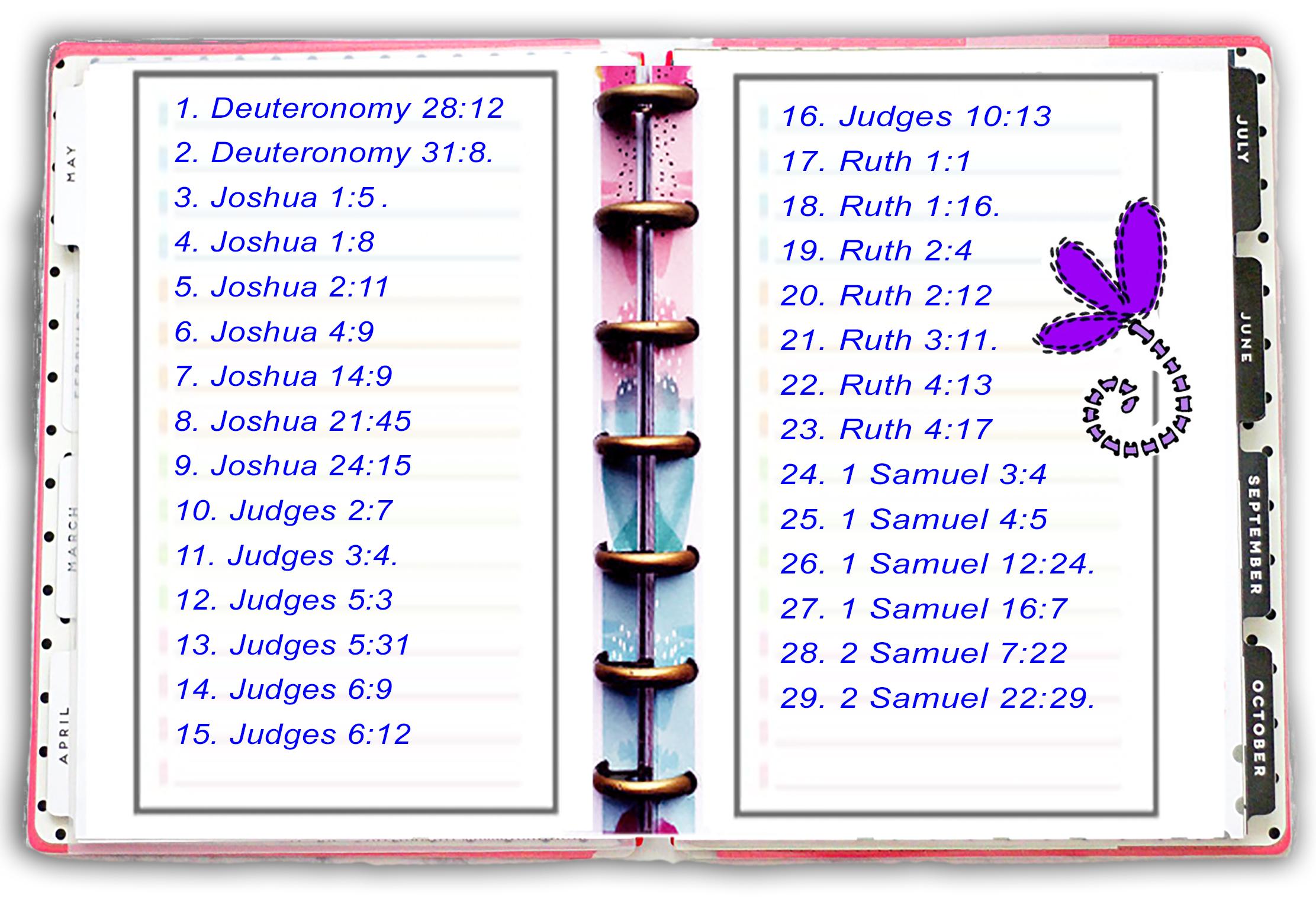 Scripture Writing Feb