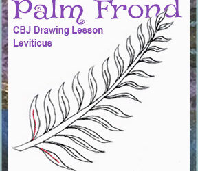 "Drawing Lesson ""Palm Fronds"""