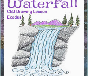 "Drawing Lesson ""Waterfall"""
