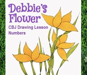 "Drawing Lesson ""Debbie's Flowers"""
