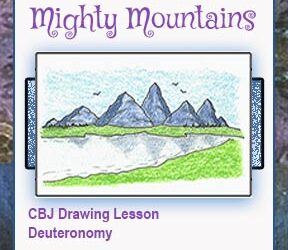 "Drawing Lesson ""Mighty Mountains"""