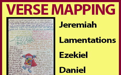 Verse Mapping – May