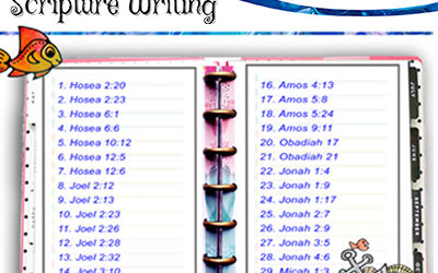 Scripture Writing – June