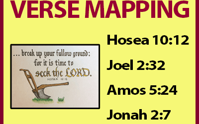 Verse Mapping – June