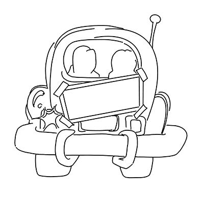 Back of Car